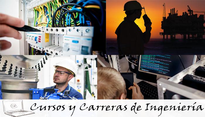 cursos y carreras de ingeniería